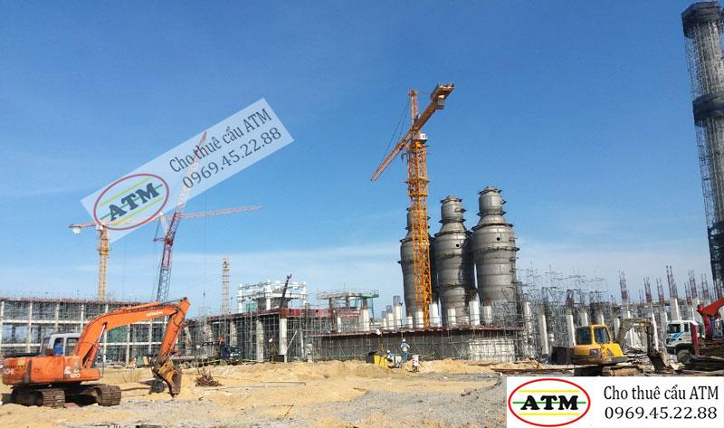 Cho thuê cẩu tháp 25 tấn QTZ 7055