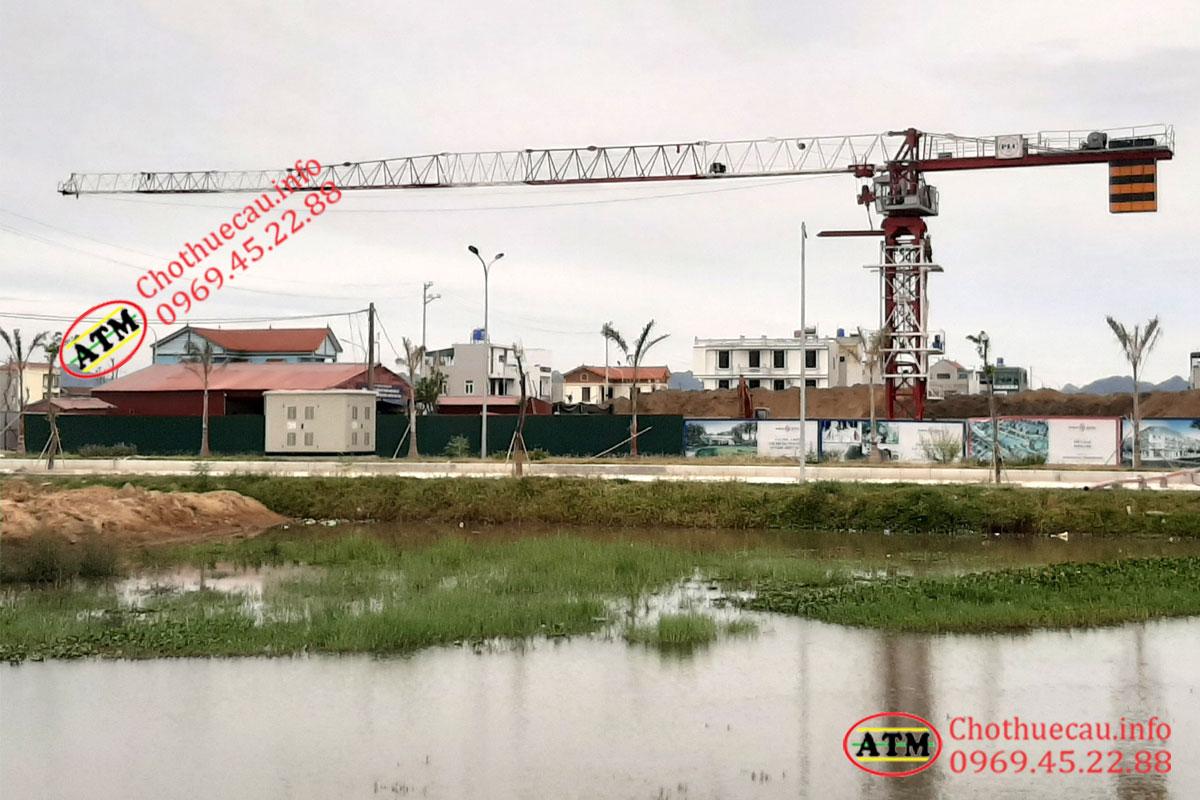 Cho thuê cẩu tháp tại Thanh Hoá giá rẻ, chuyên nghiệp